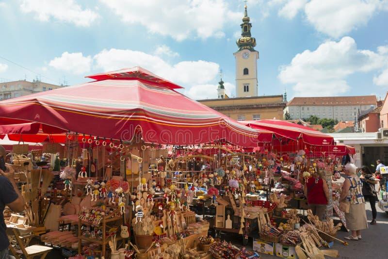 Download Boutique De Souvernirs à Zagreb Image éditorial - Image du principal, capital: 76076025