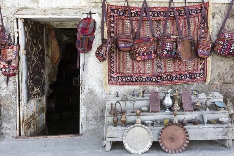 Boutique de tapis images libres de droits