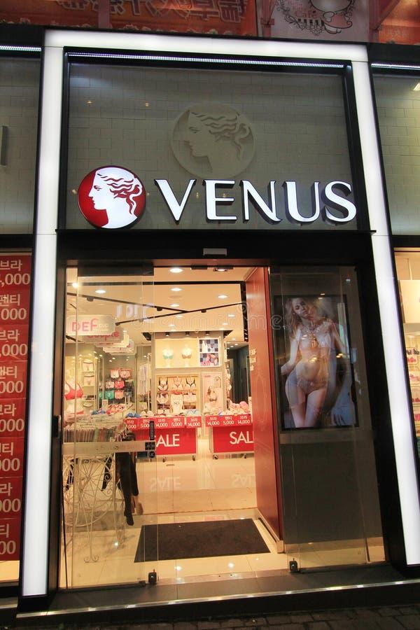 Boutique de Vénus à Séoul photos stock