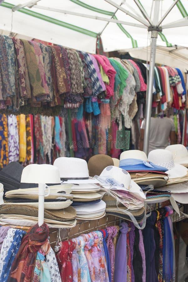 Boutique de vêtements à Palerme images libres de droits
