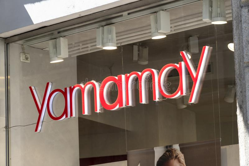 Boutique de Yamamay photo stock