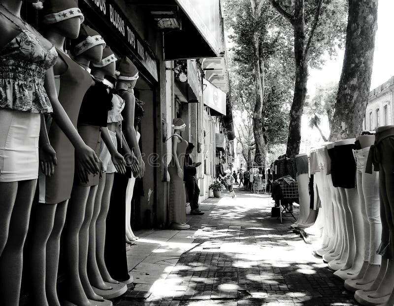 boutique del negocio para las mujeres imagenes de archivo