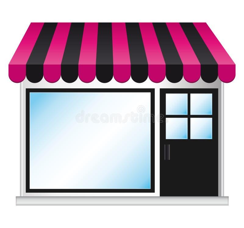 Boutique di modo. royalty illustrazione gratis
