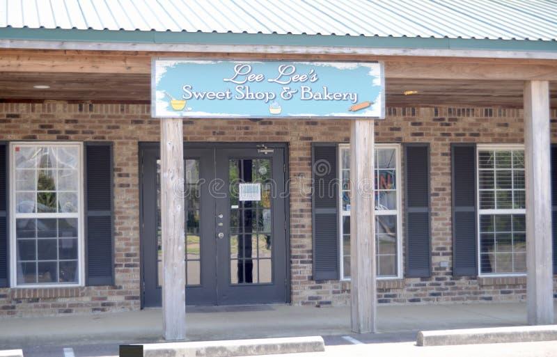 Boutique du ` s de Lee Lee et boulangerie douces, Hernando, Mississippi photos libres de droits
