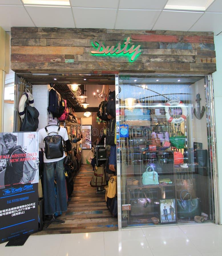 Boutique poussiéreuse en Hong Kong image stock