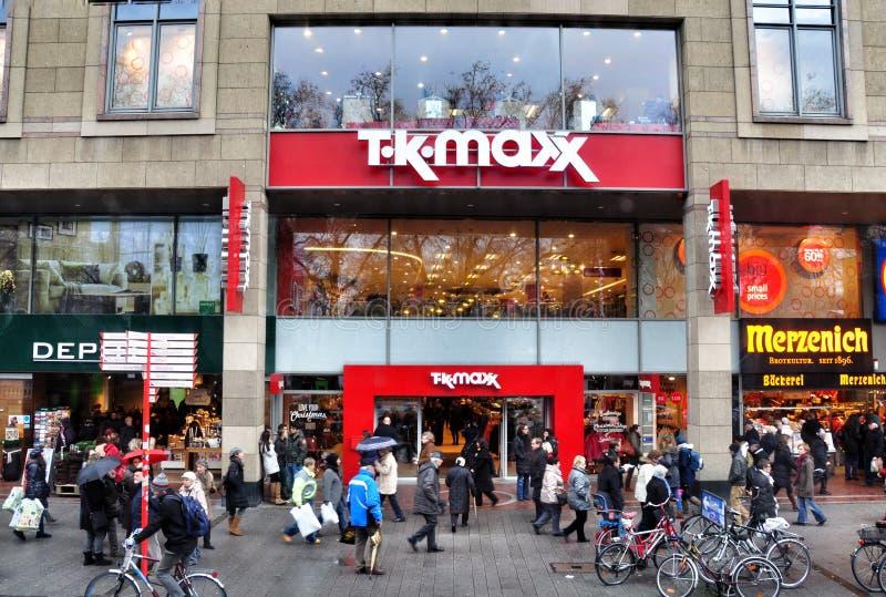 Boutique TKMaxx à Cologne photo stock