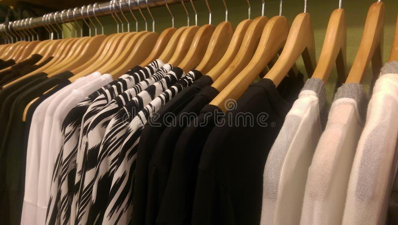 Boutiquerek stock afbeelding