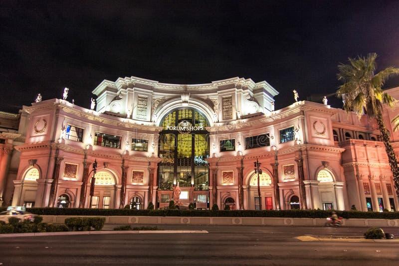 Boutiques de forum ? Las Vegas, Nevada photos stock
