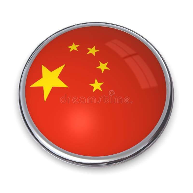 Bouton Chine de drapeau