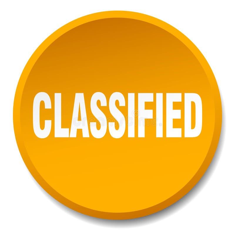 bouton classifié illustration de vecteur