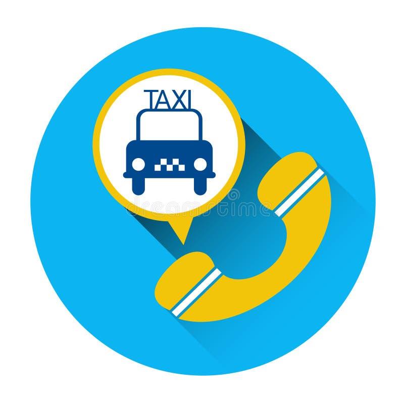 Download Bouton D'application D'appel Téléphonique De Voiture D'icône De Service De Taxi Illustration de Vecteur - Illustration du achat, mobile: 77158435