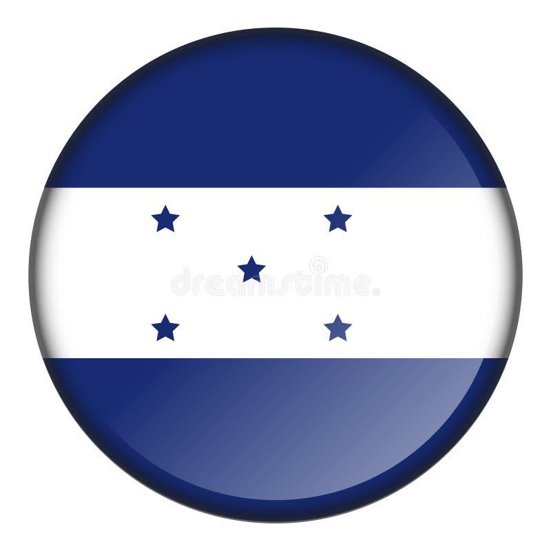 Bouton d'isolement de drapeau illustration libre de droits