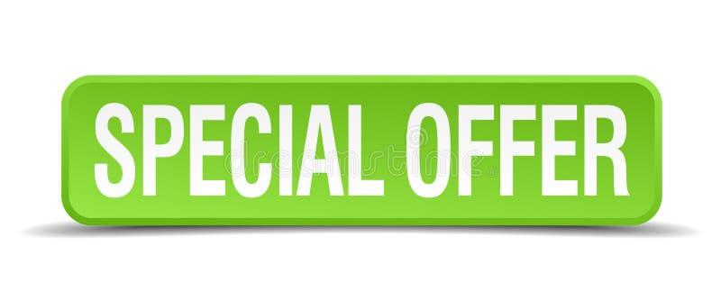 Bouton d'offre spéciale illustration stock