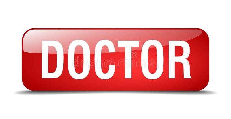 bouton de docteur illustration libre de droits