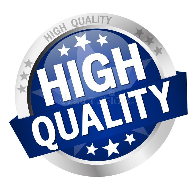 Bouton de haute qualité illustration libre de droits