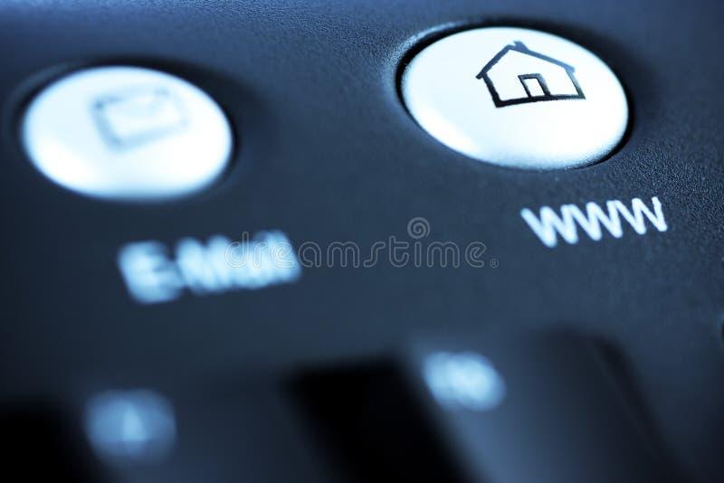 Bouton de raccourci de site Web photo libre de droits