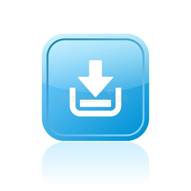 Bouton de Web de téléchargement illustration libre de droits