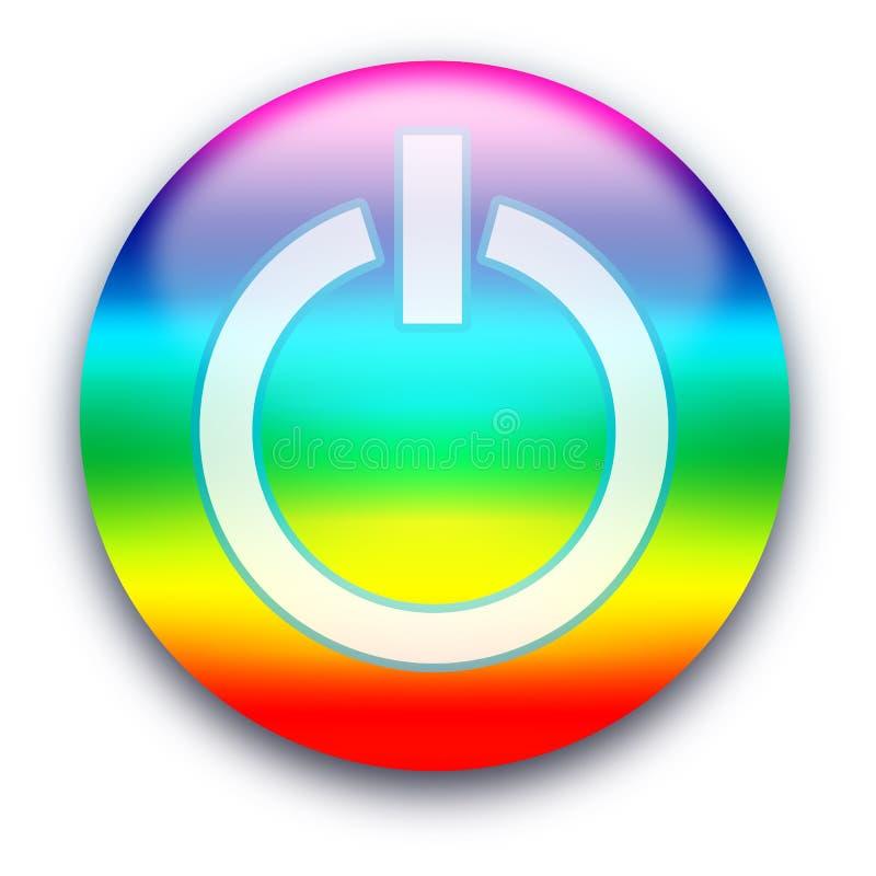 bouton hors fonction illustration libre de droits