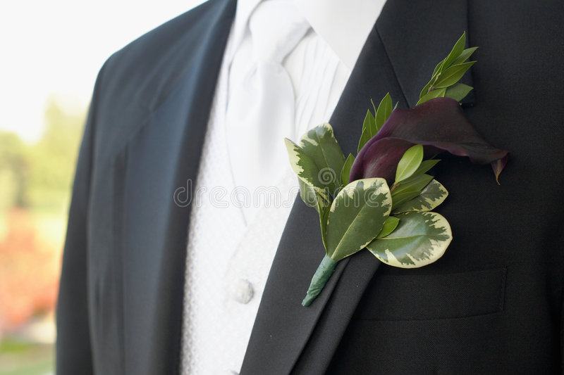 boutonniere obrazy royalty free