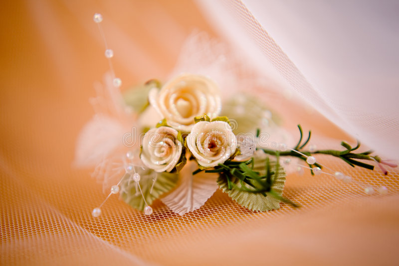 Boutonniere do casamento fotos de stock royalty free