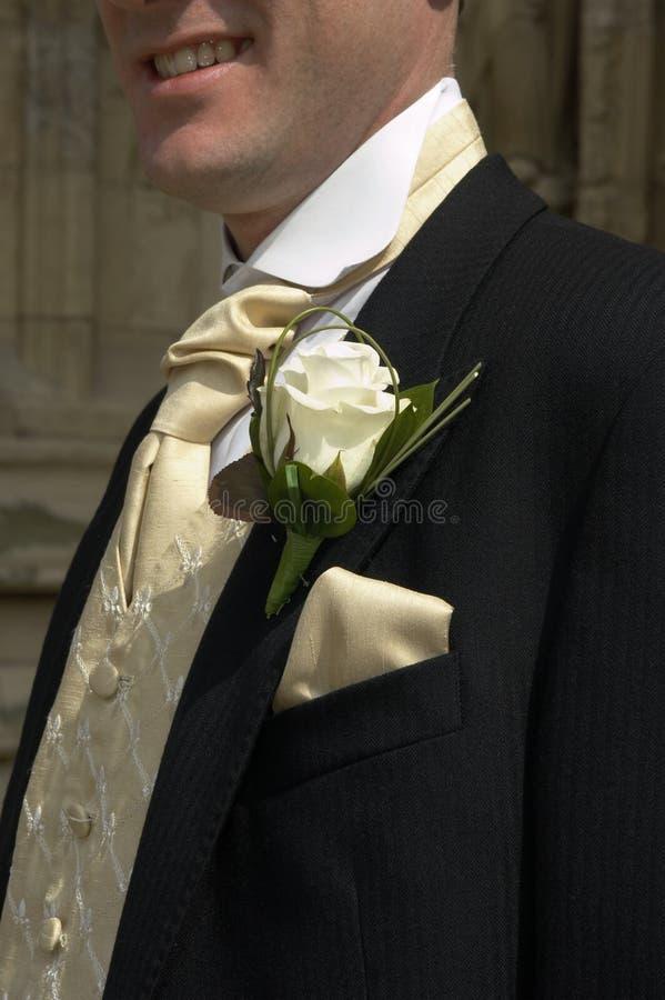 Download Boutonniere6 foto de stock. Imagem de casamentos, decorações - 115020