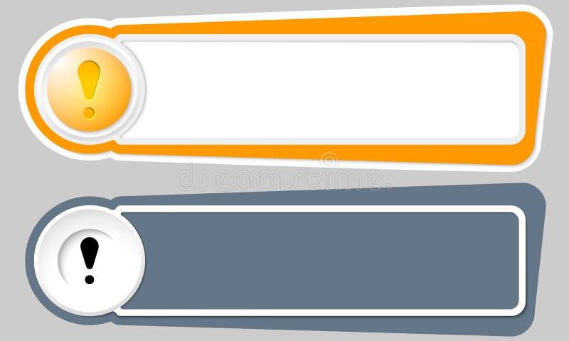 Boutons abstraits illustration de vecteur