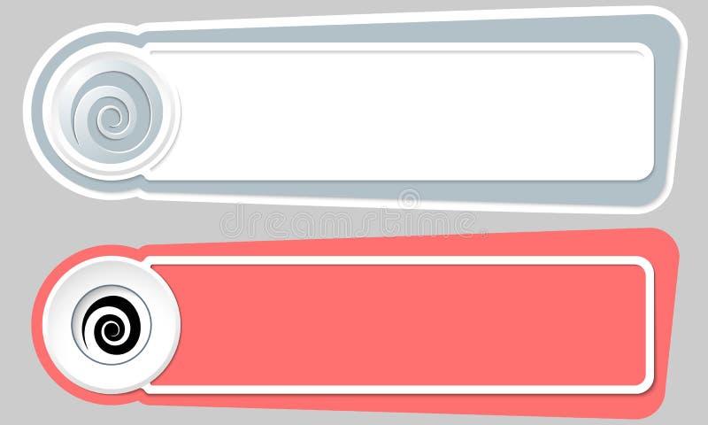 Boutons abstraits illustration libre de droits