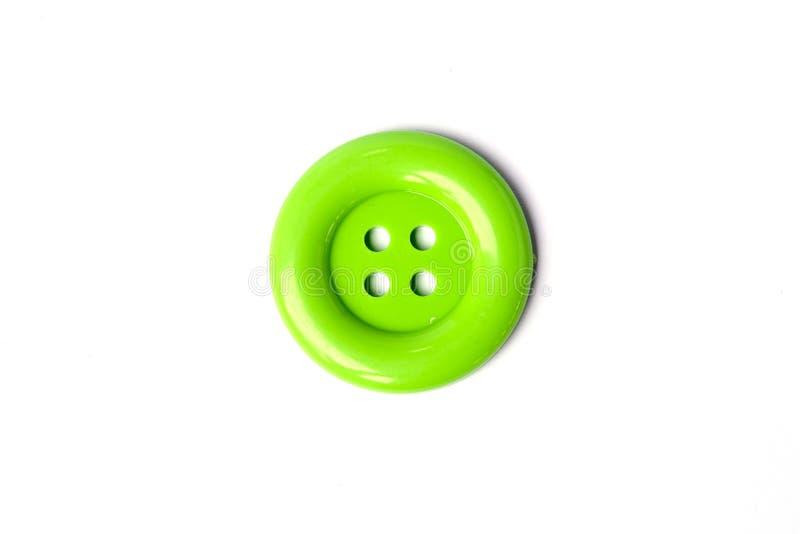 Boutons de couleurs vertes de vue supérieure grands image libre de droits