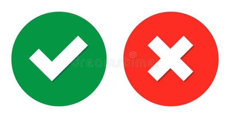 boutons ronds de Web de coutil et de croix illustration de vecteur