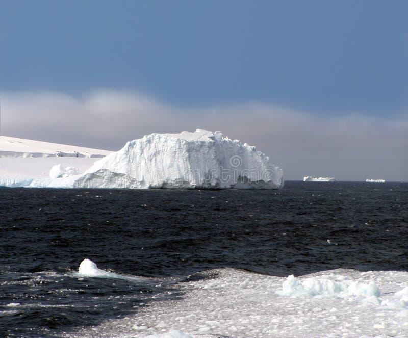 Bouvet Island, Antarctica. A coastal view of Bouvet Island near Antarctica in the South Atlantic royalty free stock images