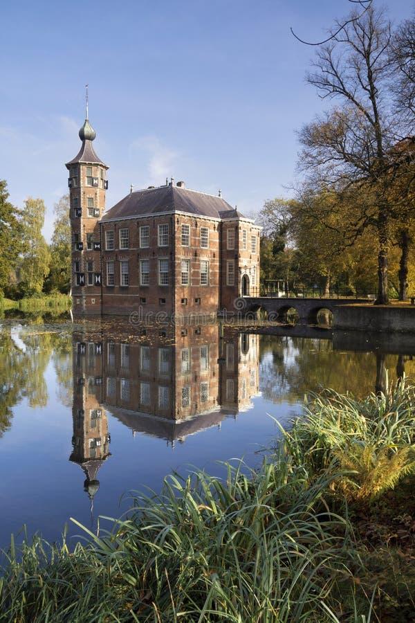 Bouvigne castle near Breda stock photography