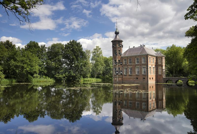 Bouvigne castle near Breda royalty free stock photo