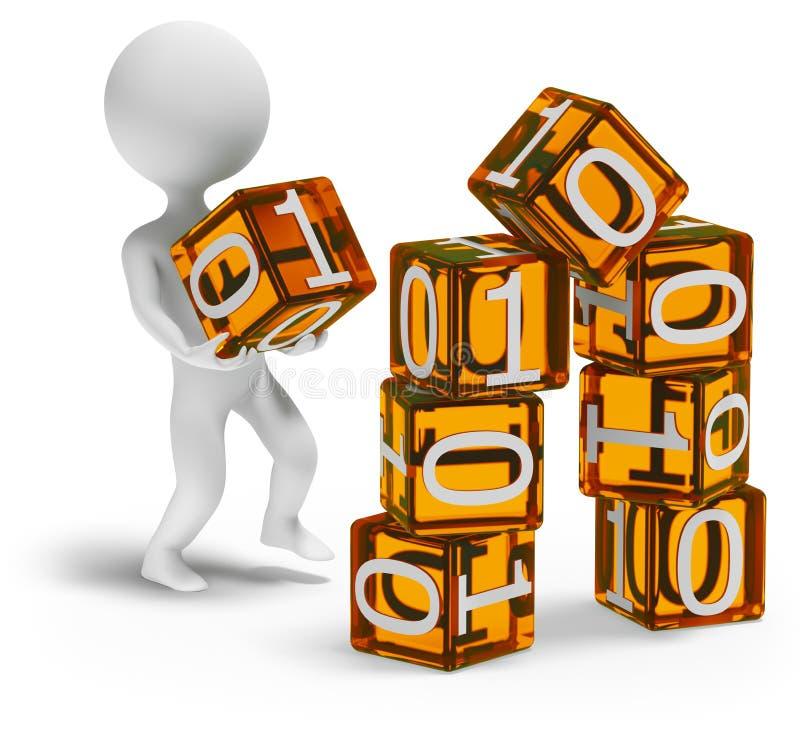 Bouw digitaal huis stock illustratie illustratie for Huis digitaal