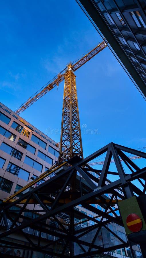 Bouw van gebouwen royalty-vrije stock afbeelding
