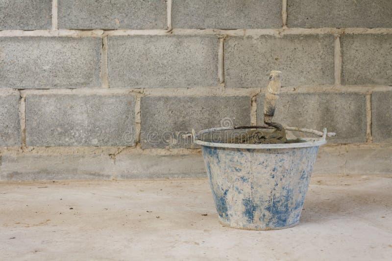 Bouw van nieuwe muren royalty-vrije stock foto