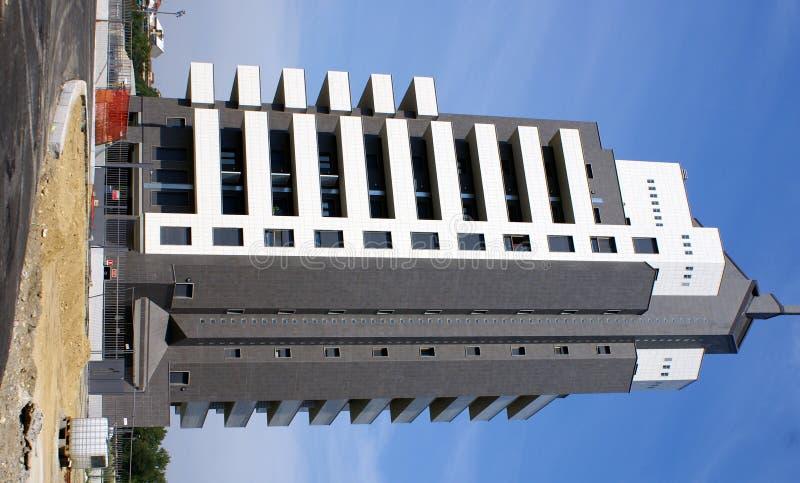 bouwconstructieplaats stock afbeelding