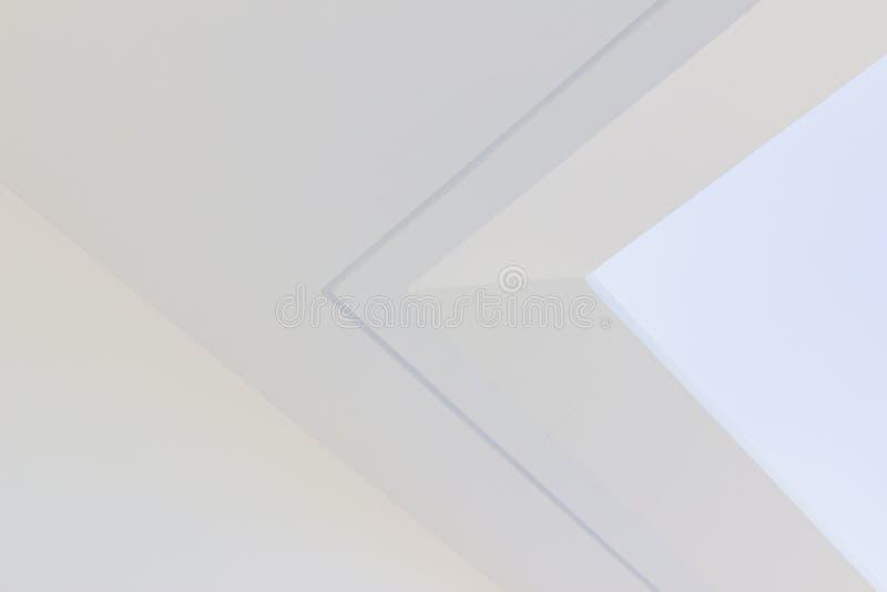Bouwdetails - cantileverplak met groef royalty-vrije stock foto