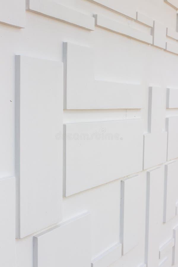 Bouwdetails: Multi-niveausmuur voor externe decoratie royalty-vrije stock foto's