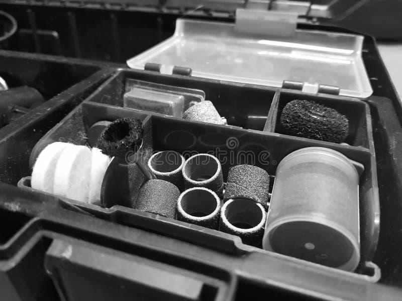 Bouwhulpmiddel - uiteinden voor graveur stock fotografie