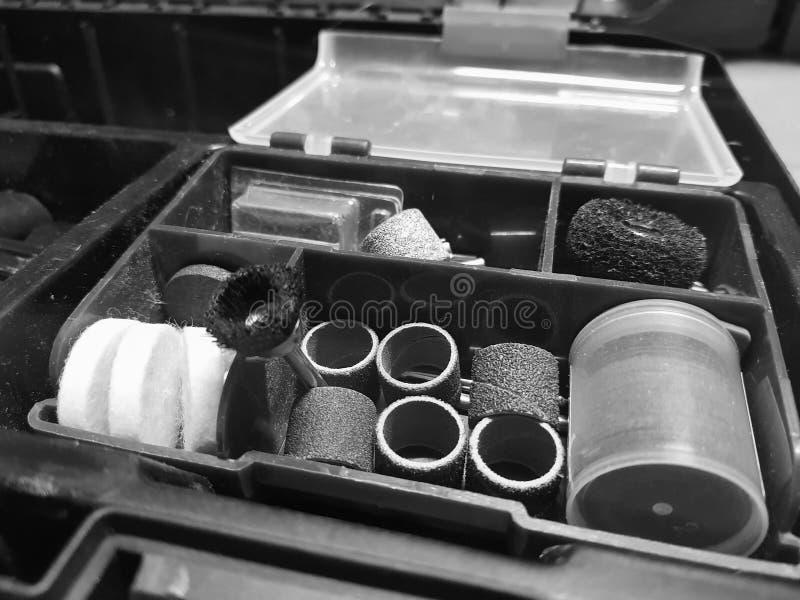 Bouwhulpmiddel - uiteinden voor graveur stock foto