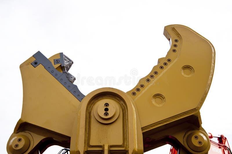 Bouwmachine stock foto