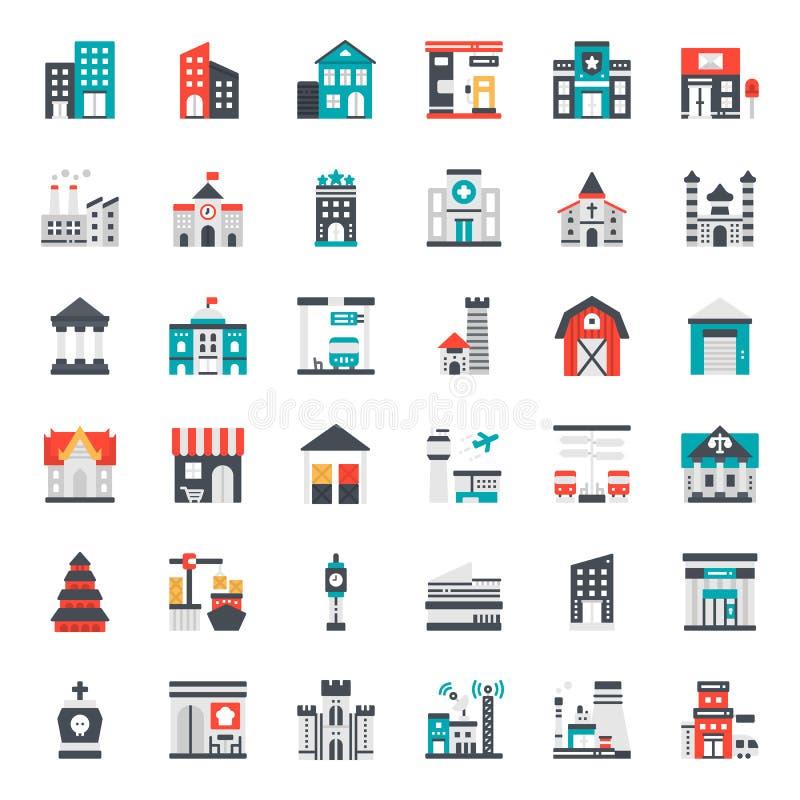 bouwpictogram vector illustratie