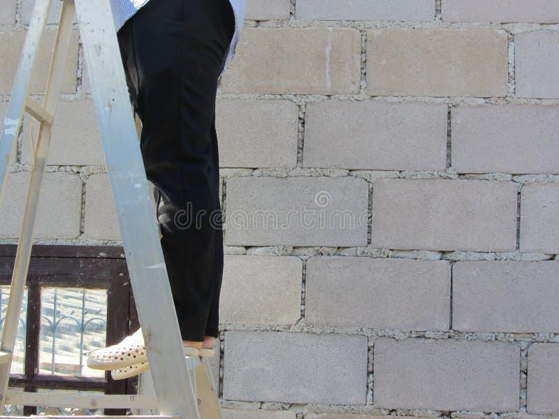 bouwvakkerachtergrond stock foto