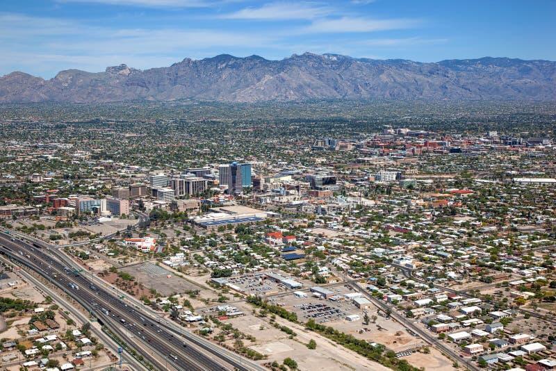 Boven Tucson royalty-vrije stock afbeeldingen