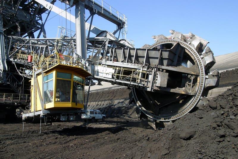Bovengrondse mijnbouw royalty-vrije stock foto's