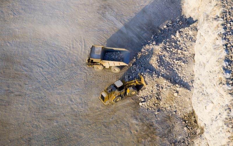 Bovengrondse mijnbouw royalty-vrije stock foto