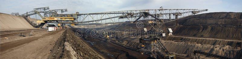 Bovengrondse mijnbouw royalty-vrije stock fotografie