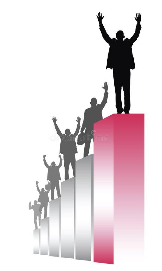 Bovenkant stock illustratie