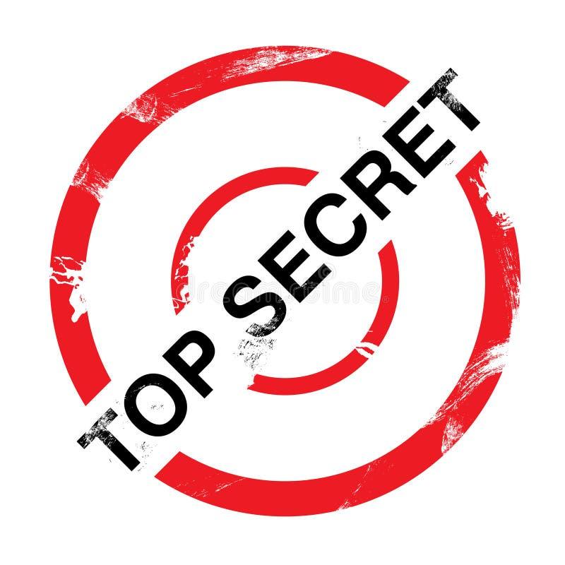 Bovenkant - geheim stock illustratie