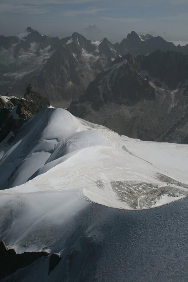 Bovenkant van de Alpen royalty-vrije stock afbeeldingen